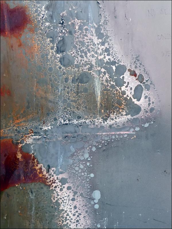 Feu de poubelle - Michel-Jean Dupierris