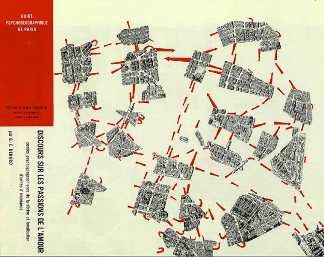Guide psychogéographique de Paris - G. Debord