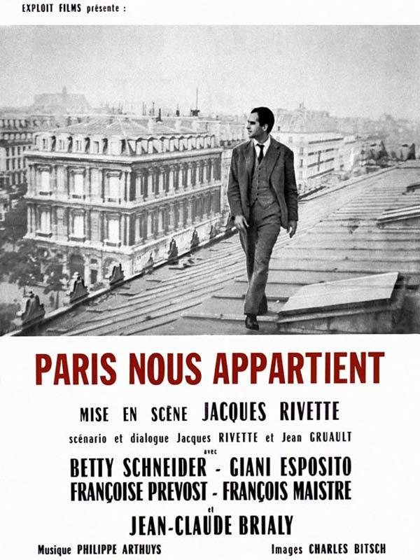 Paris nous appartient - J. Rivette