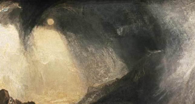 Tempesta di neve (particolare) - W. Turner