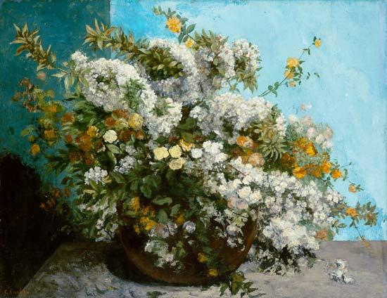 Vita dei fiori - G. Courbet